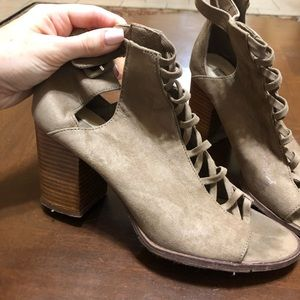 Forever 21 Taupe Booties
